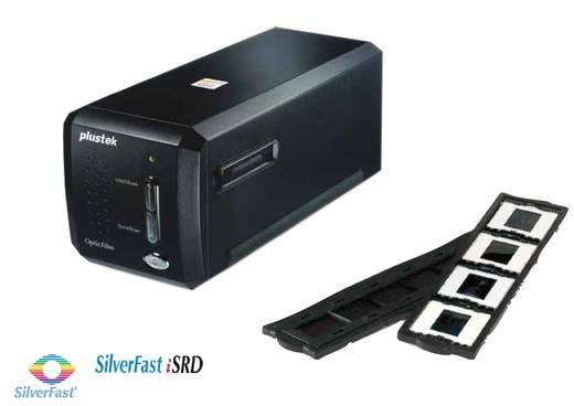 Plustek OpticFilm 8200i Ai Negatiefscanner, Diascanner 7200 dpi Stof- en krasverwijdering: Hardware