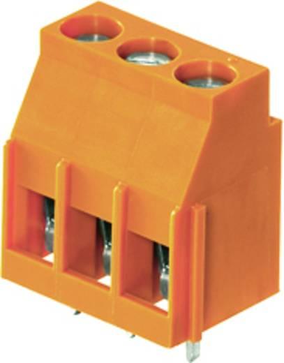 Klemschroefblok 4.00 mm² Aantal polen 3 LL 5.08/03/90 3.2SN OR BX Weidmüller Oranje 100 stuks