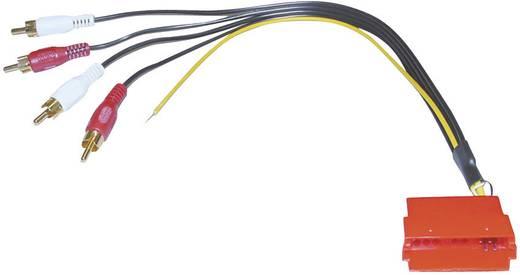 Mini ISO koppeling AIV 4 x Cinch-Stecker auf Mini-ISO - Buchse