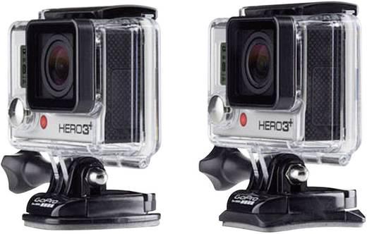 GoPro Gebogen + vlakke kleefbevestigingen AACFT-001 Kleefpads Geschikt voor (GoPro): GoPro