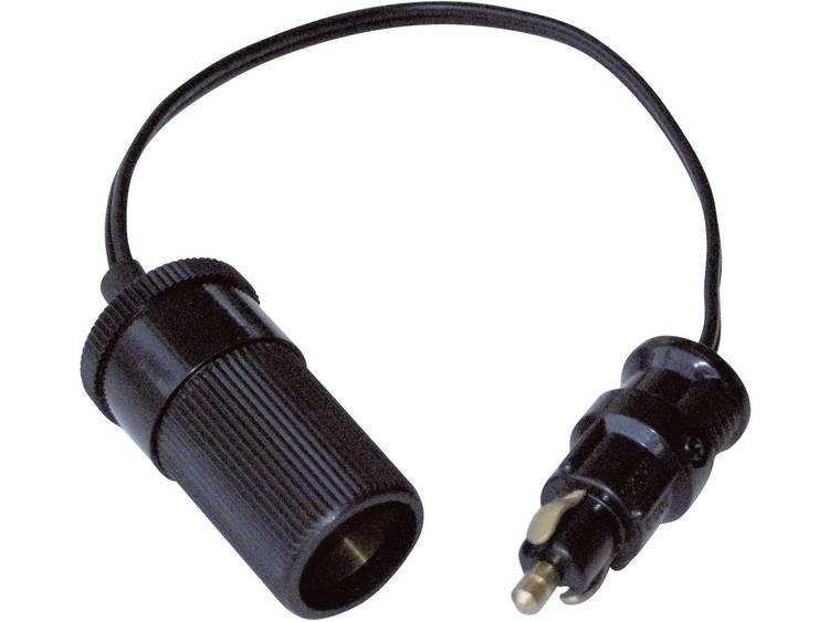 BAAS BA14 Adapterkabel BA14 Geschikt voor Standaardcontactdozen, Sigarettenaanstekerstekker