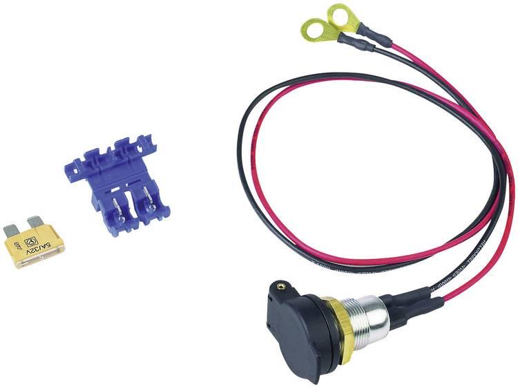 BAAS SD14 DIN boordstopcontact SD14 Stroombelasting (max.) 5 A Geschikt voor Normale stekker, Universele stekker