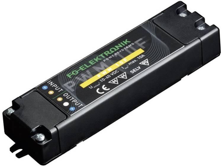 FG Elektronik PWM 10 F set LED-dimmer 400 W 40 V-DC PWM dimbaar Voedingsspanning (max.): 40 V-DC