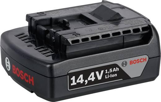 Accuboormachine Bosch GSR 14,4-2 LI incl. 2 accu's, incl. koffer 14.4 V 1.5 Ah Li-ion