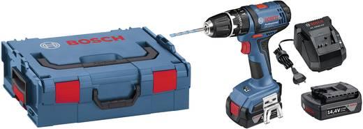 Bosch GSB 14,4-2 LI Accu-klopboor / schroefmachine incl. 2 accu's, incl. koffer 14.4 V 1.5 Ah Li-ion