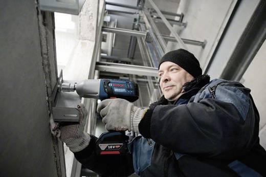 Accudraaislagmoeraanzetter Bosch GDS 18 V-LI HT incl. 2 accu's, incl. koffer 18 V 4 Ah Li-ion