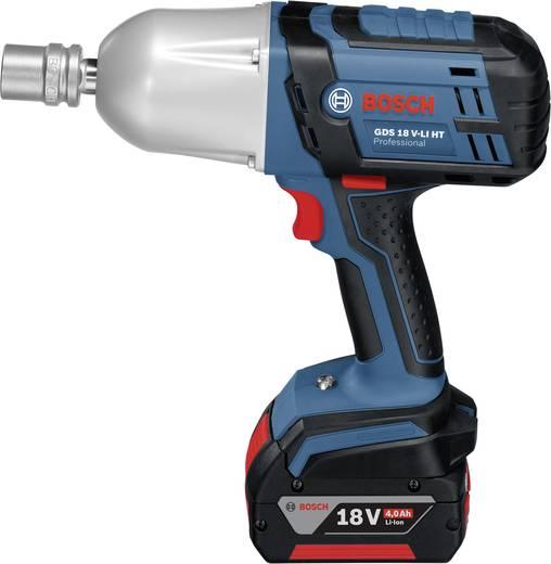 Bosch GDS 18 V-LI HT Professional Accudraaislagmoeraanzetter incl. 2 accu's, incl. koffer 18 V 4 Ah Li-ion