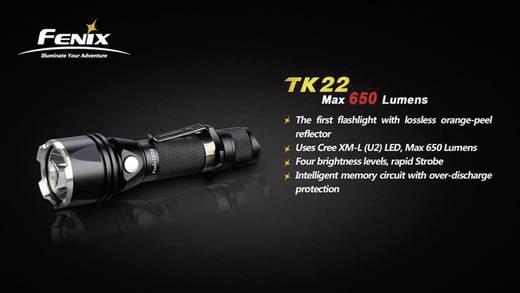 Fenix TK 22 LED Zaklamp werkt op batterijen 650 lm 168 h 157 g
