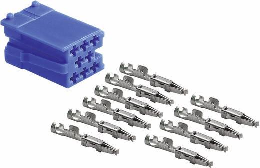 Mini ISO stekker AIV Blau