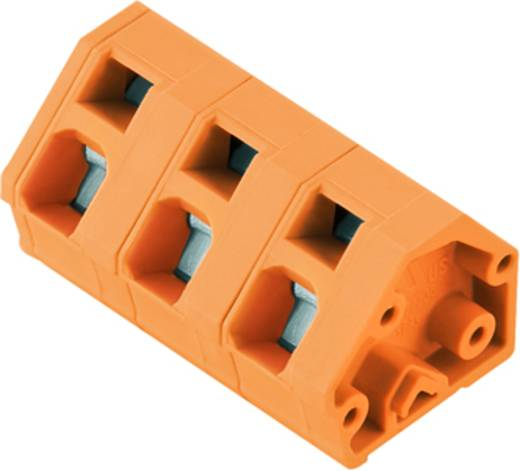 Veerkachtklemblok 2.50 mm² Aantal polen 9 LMZF 7/9/135 3.5OR Weidmüller Oranje 100 stuks