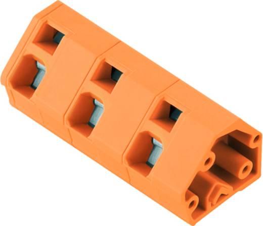 Veerkachtklemblok 2.50 mm² Aantal polen 9 LMZF 10/9/135 3.5OR Weidmüller Oranje 100 stuks