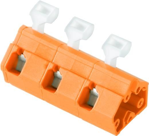 Veerkachtklemblok 2.50 mm² Aantal polen 4 LMZFL 10/4/135 3.5OR Weidmüller Oranje 100 stuks