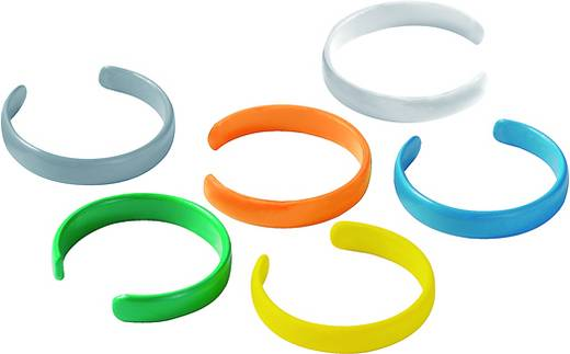 Kleurcoderingsring Kleurcodering IE-CR-IP20-RJ45-FH-GY IE-CR-IP20-RJ45-FH-GY Weidmüller Inhoud: 10 stuks