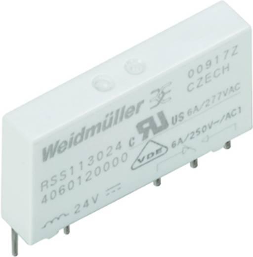 Weidmüller RSS112024 24VDC-REL1U Steekrelais 24 V/DC 6 A 1x wisselaar 20 stuks
