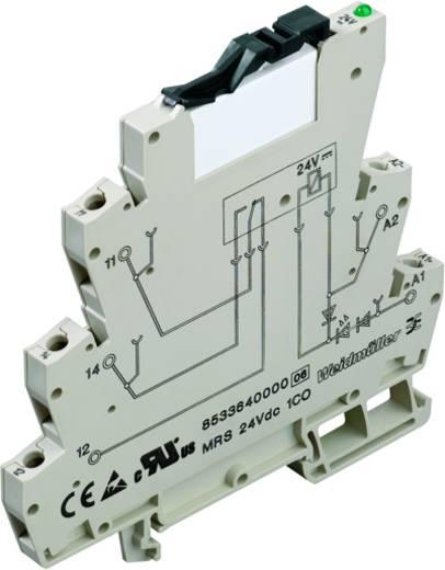Koppelrelais 10 stuks 230 V/DC, 230 V/AC 6 A 1x wisselaar Weidmüller MRS 230VUC 1CO C1D2