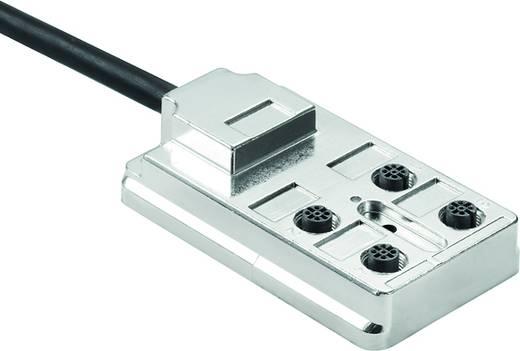 Passieve sensor-/actuatorverdeler SAI-4-FMM-4P M12 5M Weidmüller Inhoud: 4 stuks