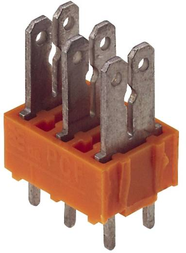 Weidmüller 9500410000 Kabelschoen-splitter Insteekbreedte: 6.3 mm Insteekdikte: 0.8 mm 180 ° Deels geïsoleerd Oranje, Zilver 100 stuks