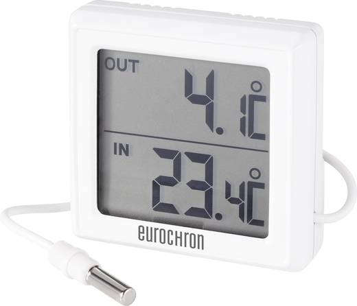 Eurochron ETH 5200 ETH 5200 Thermometer Wit