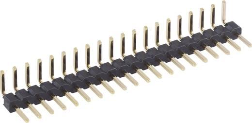 Male header (standaard) Aantal rijen: 1 Aantal polen per rij: 20 BKL Electronic 10120405 1 stuks
