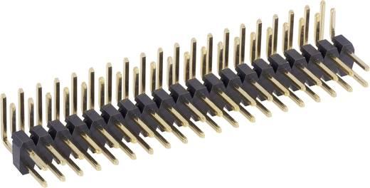 Male header (standaard) Aantal rijen: 2 Aantal polen per rij: 20 BKL Electronic 10120407 1 stuks