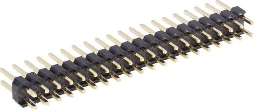 Male header (standaard) Aantal rijen: 2 Aantal polen per rij: 13 BKL Electronic 10120521 1 stuks