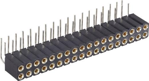 Male header, inbouw (precisie) Aantal rijen: 2 Aantal polen per rij: 18 BKL Electronic 10120819 1 stuks