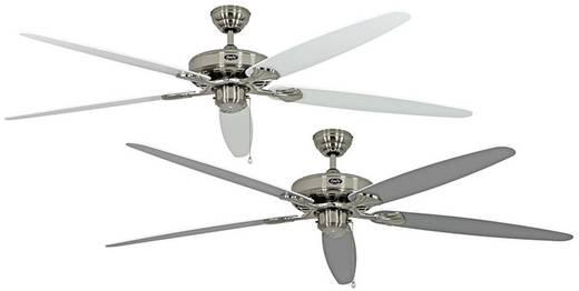 CasaFan CLASSIC ROYAL 180 BN Lack weiß/lichtgrau Plafondventilator (Ø) 180 cm met wintermodus, omkeerbare bladen