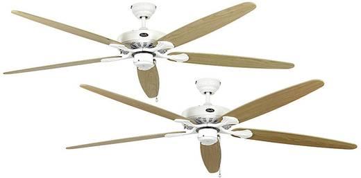 Plafondventilator (Ø) 180 cm met wintermodus, omkeerbare bladen CasaFan Classic Royal 180 WE esdoorn/beuken