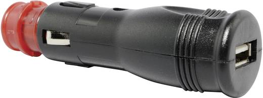 BAAS Universele stekkeradapter USB3 Stroombelasting (max.): 1 A Geschikt voor (details) Sigarettenaansteker, Standaard s