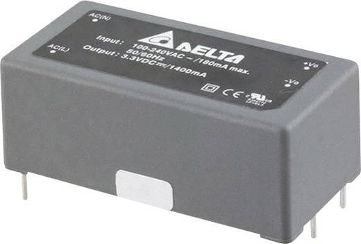 Delta Electronics AA07S1500A AC/DC printnetvoeding 15 V 466 mA 7 W