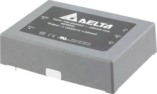 Delta Electronics AA15D1212A AC/DC printnetvoeding 12 V 650 mA 15 W