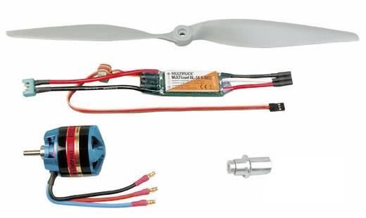Brushless aandrijving voor vliegtuigen/helikopters Multiplex 332663 Geschikt voor: Multiplex Tucan, Multiplex Mentor