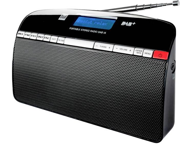 Dual DAB 14 DAB+ Transistorradio DAB+, FM Zwart