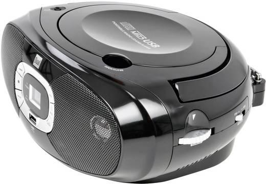 Dual P 390 FM CD-radio CD, Middengolf, FM, USB Zwart