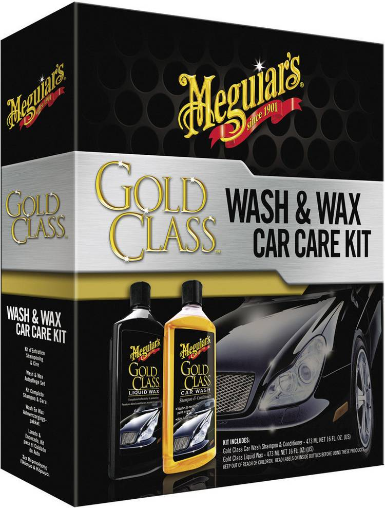 Image of Auto behandelingset 1 set Meguiars Gold Class Wash & Wax Car Care Kit G9966