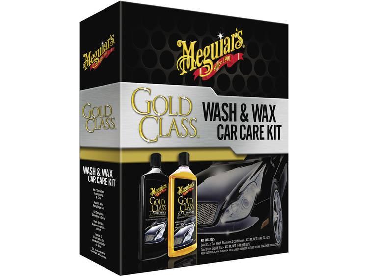 Auto behandelingset 1 set Meguiars Gold Class Wash Wax Car Care Kit G9966