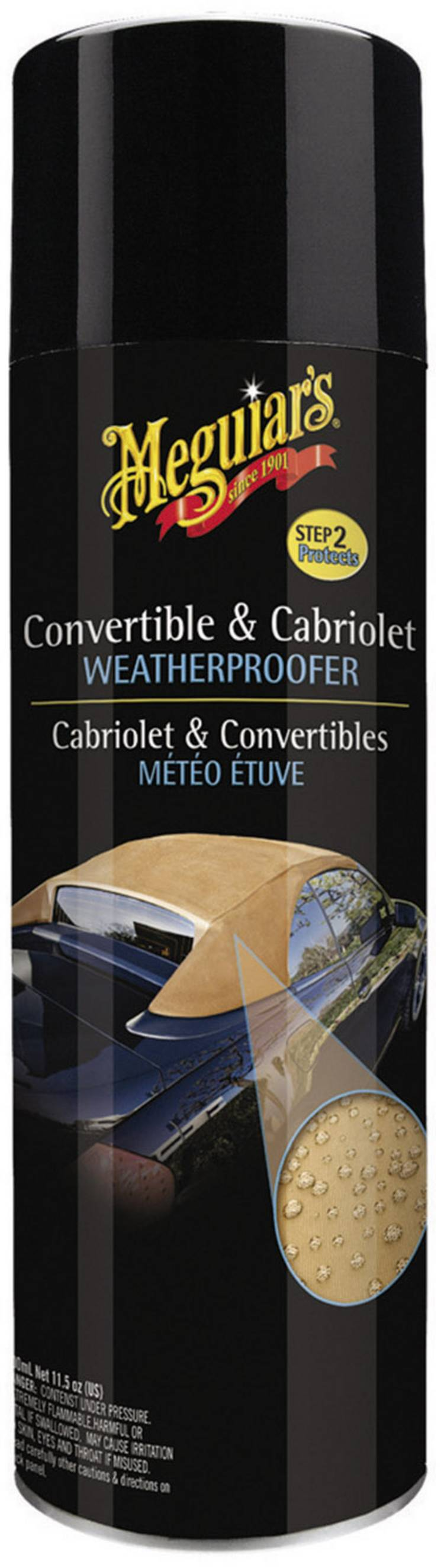Image of Convertible Weatherproofer - impregneermiddel voor cabriodaken 500 ml Meguiars Convertible Weatherproofer G2112