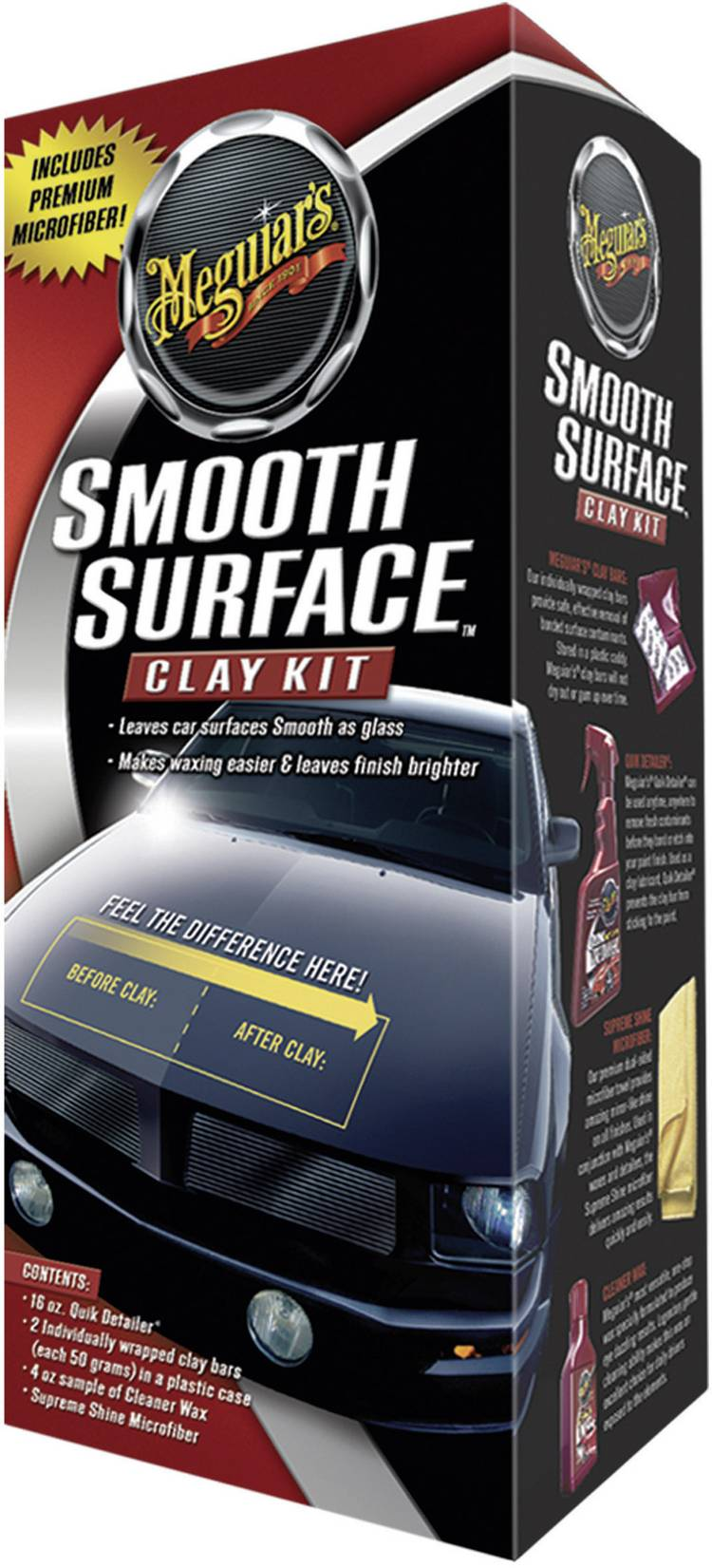 Image of Auto behandelingskit 1 set Meguiars Smooth Surface Clay Kit G1016