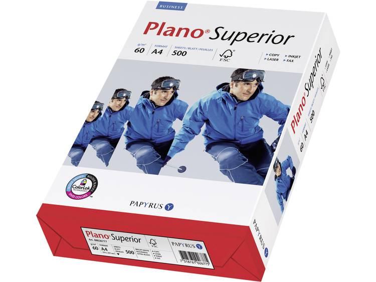 Printpapier Papyrus Plano Superior 88026776 DIN A4 60 g/m² 500 vellen Wit