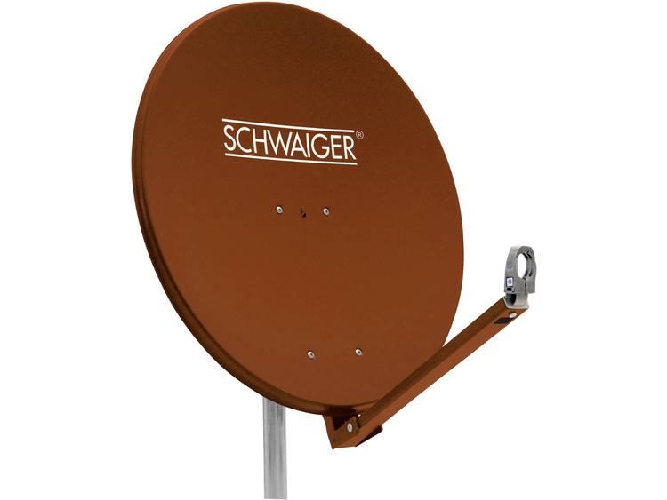 Schwaiger SPI710.2 Satellietschotel 75 cm Reflectormateriaal Aluminium Steenroo