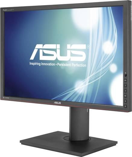 Asus PA248Q LED-monitor 61 cm (24 inch) Energielabel A+ 1920 x 1200 pix WUXGA 6 ms DisplayPort, DVI, HDMI, VGA AH-IPS LED
