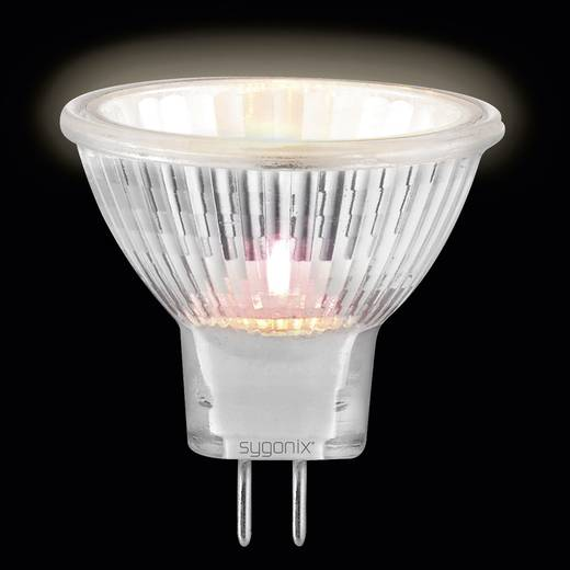 Sygonix Halogeen 35 mm 12 V G4 35 W Warm-wit Energielabel: C Reflector Dimbaar 3 stuks