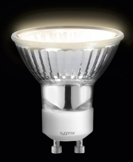 Sygonix Halogeen 55 mm 230 V GU10 20 W Warm-wit Energielabel: E Reflector Dimbaar 1 stuks