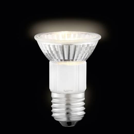Sygonix Halogeen 72 mm 230 V E27 35 W Warm-wit Energielabel: D Reflector Dimbaar 2 stuks