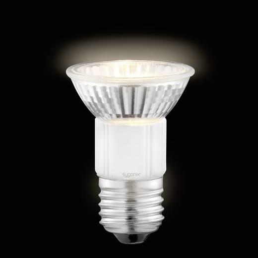 Sygonix Halogeen 72 mm 230 V E27 50 W Warm-wit Energielabel: D Reflector Dimbaar 2 stuks