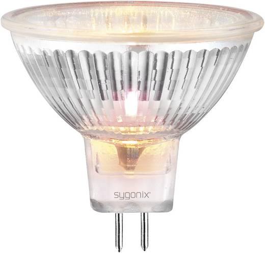 Sygonix Halogeen 50 mm 12 V GU5.3 20 W Warm-wit Energielabel: C Reflector Dimbaar 1 stuks