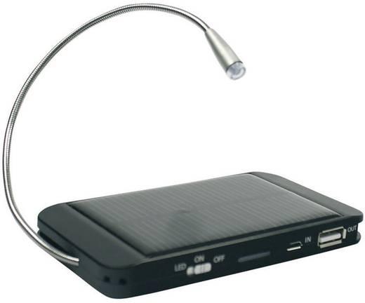 Fontastic Station de charge solaire USB-oplader op zonne-energie, USB-oplader, USB power bank 5 V/DC 500 mA