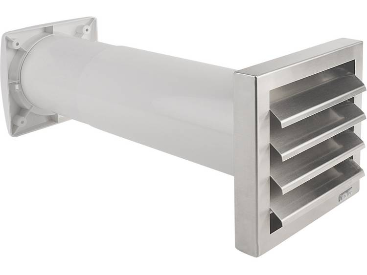 Wallair Ventilatiemuurdoorvoer Aeroboy (toe- en afvoer) Ø 150 mm Wit