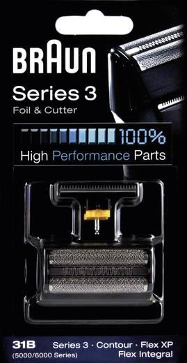 Braun 31B - Kombipack 5000 Scheerblad en trimmer Zwart 1 set