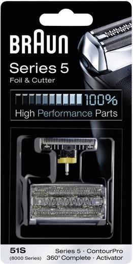 Braun 51S – combipack 8000 Scheerblad en trimmer Zilver 1 set